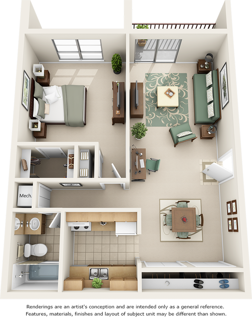 Day Lily Floor Plan