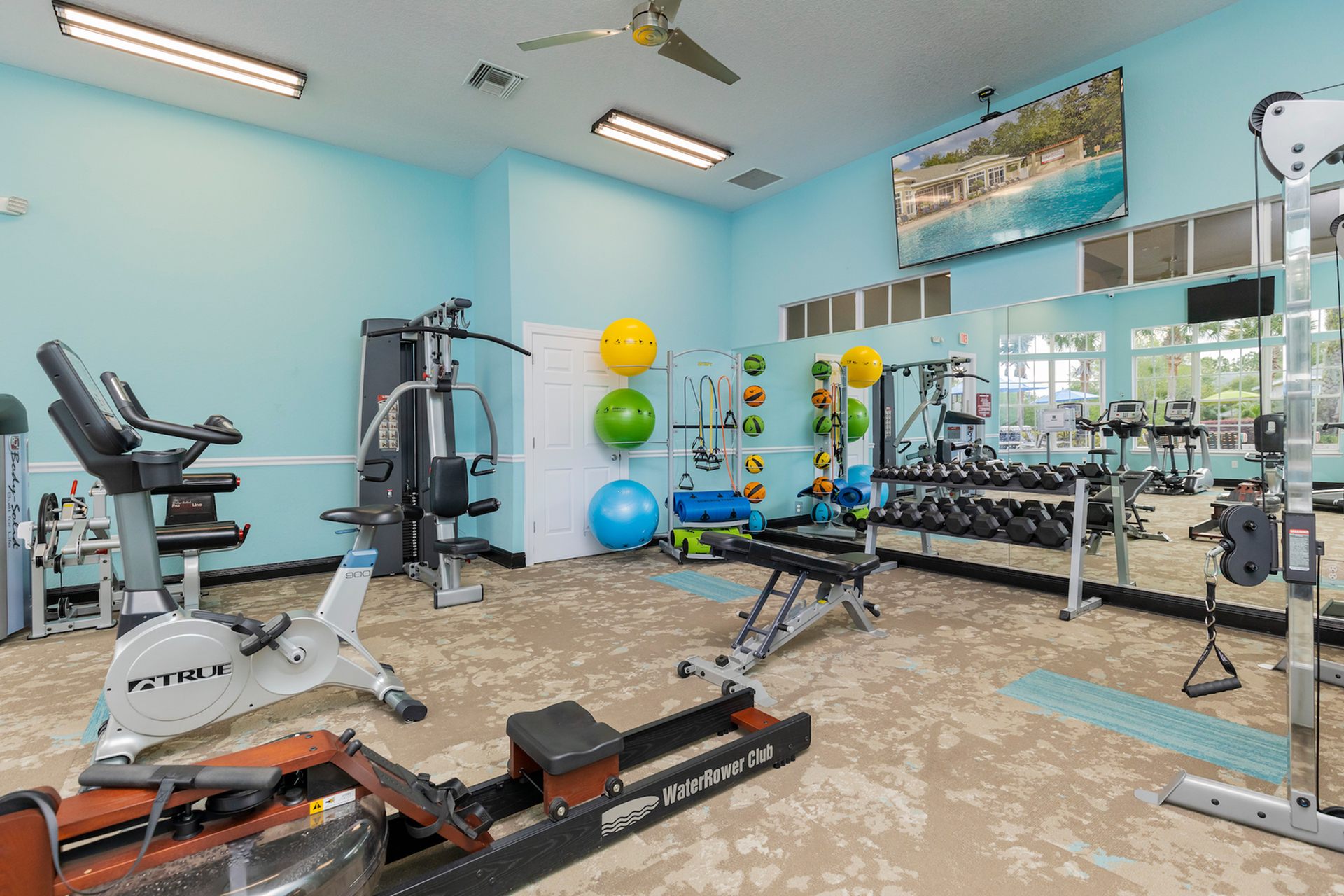 Highlands at Heathbrook Interior | 24-hour fitness center