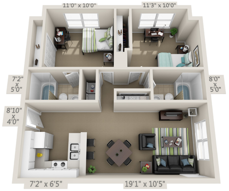 The Avenues A3 With Premium Finishes Floor Plan