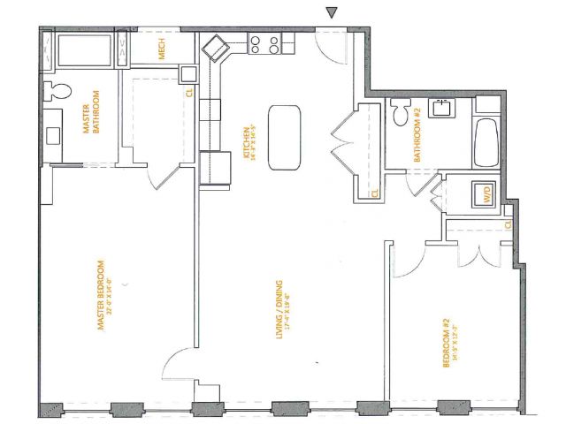 Floor Plan | The Cliffs