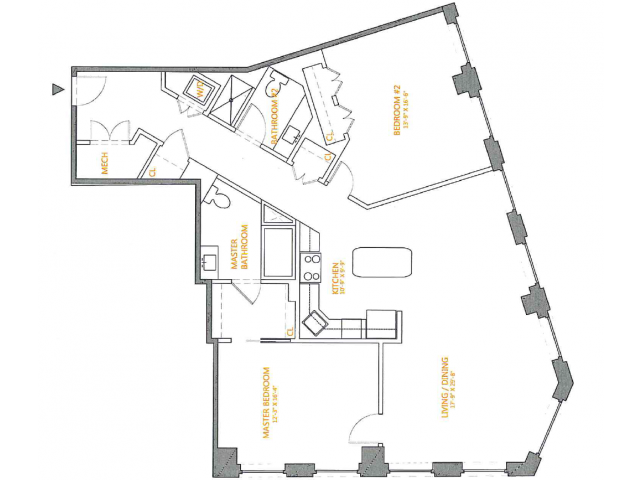 Floor Plan 2 | The Cliffs