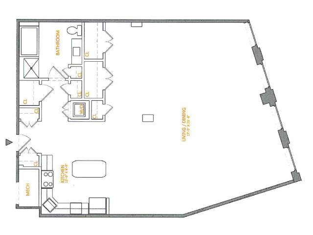 Floor Plan 3 | The Cliffs