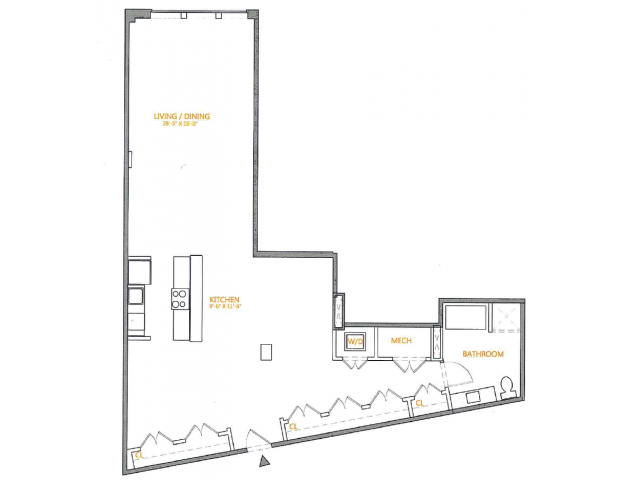 Floor Plan | The Cliffs 3