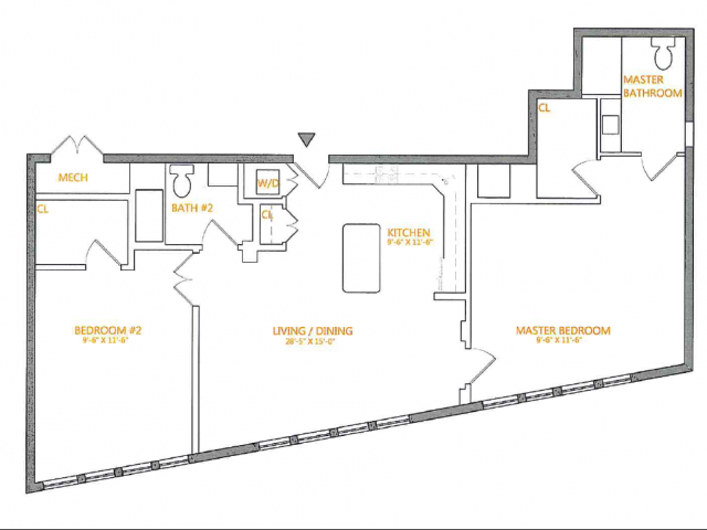 Floor Plan 2 | The Cliffs 3