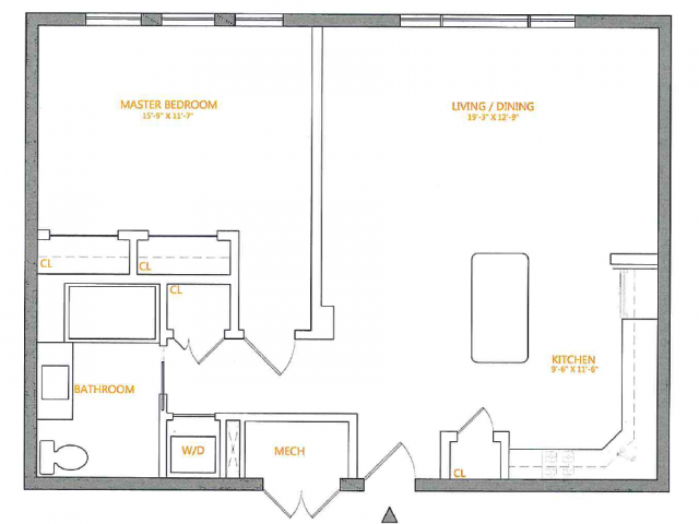Floor Plan 4 | The Cliffs 3