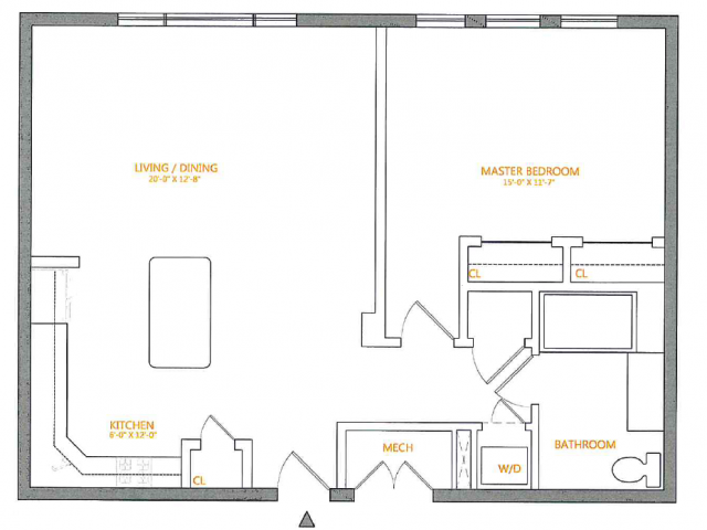 Floor Plan 6 | The Cliffs 3