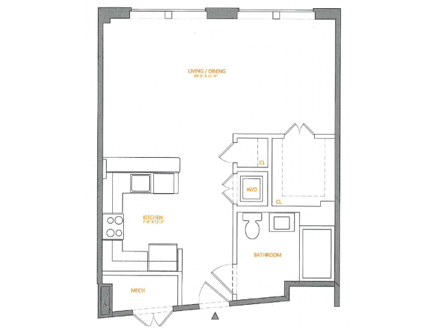 Floor Plan | The Cliffs 4