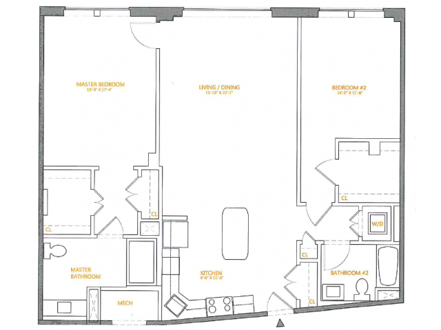 Floor Plan 3 | The Cliffs 4