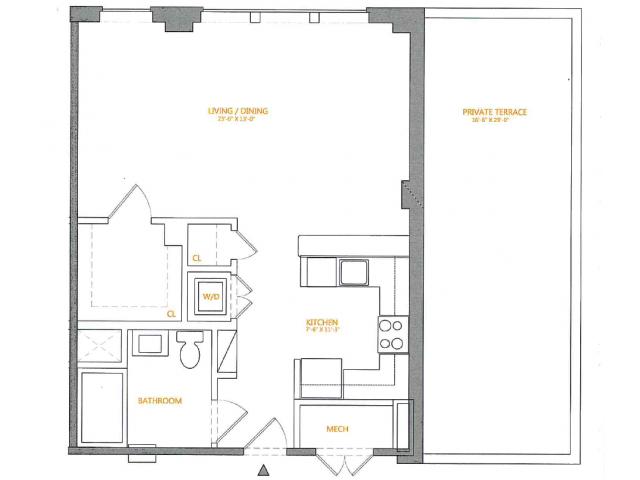 Floor Plan 5   The Cliffs 4