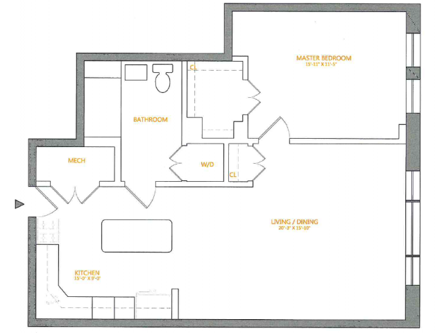 Floor Plan 3 | The Cliffs 5