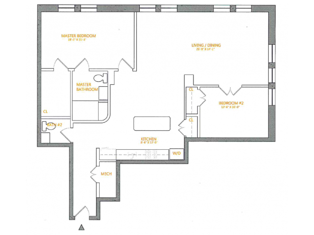 Floor Plan 4 | The Cliffs 5
