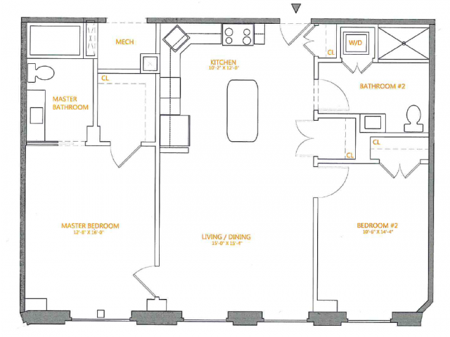 Floor Plan 5 | The Cliffs