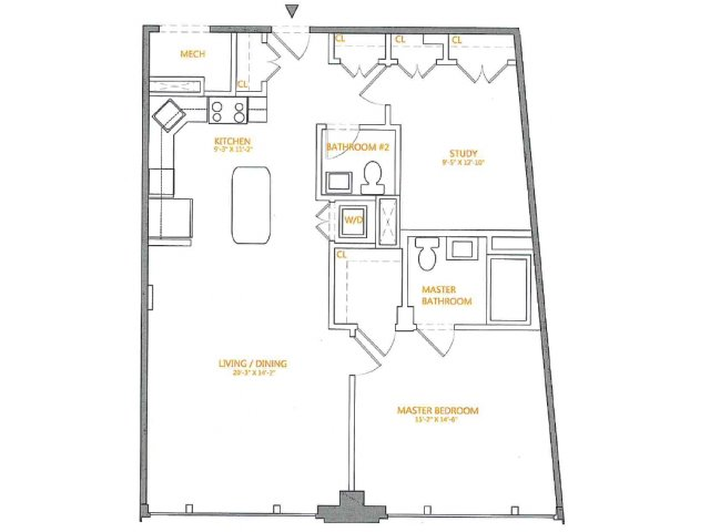 Floor Plan 2 | The Cliffs 2