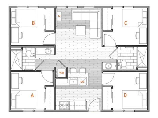 4x2 Terrace A