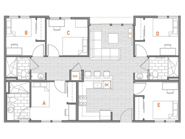 5x3 Master Terrace