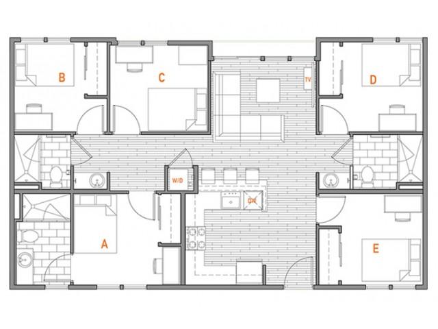 5x3 Terrace