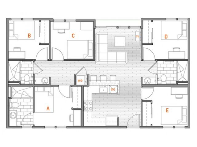 5x3 Master Penthouse