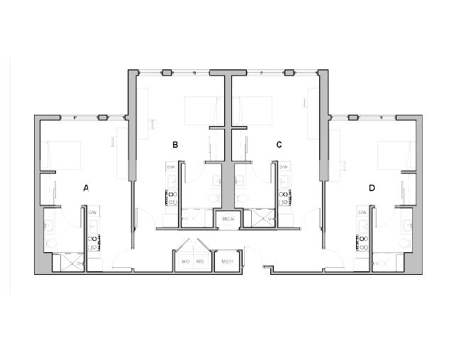 Studio Quad A Penthouse