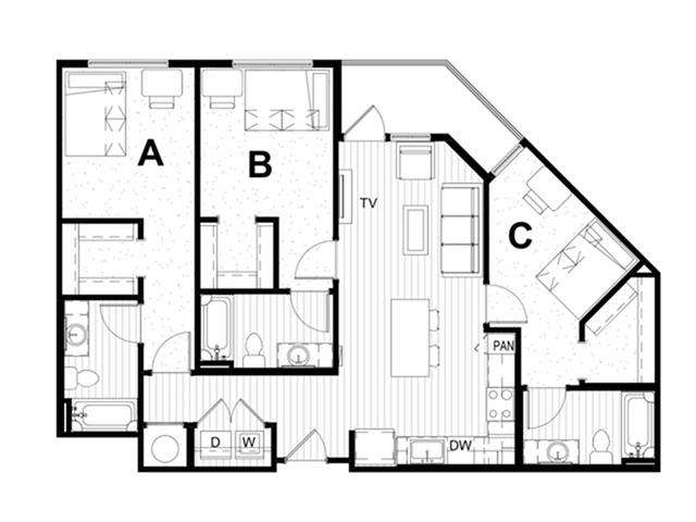 3x3 A Balcony