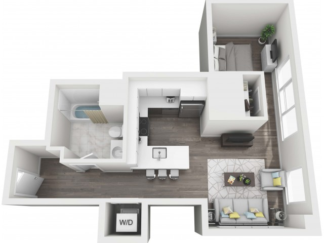 UNIT 05 | 3D FLOOR PLAN