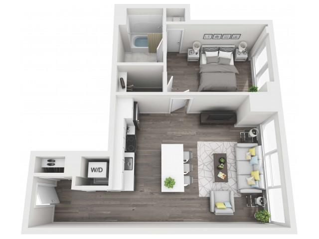 UNIT 04 | 3D FLOOR PLAN