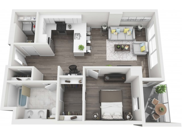 UNIT 10 | 3D FLOOR PLAN