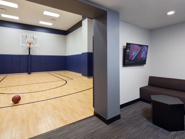 Image of Basketball Court for The Buckler