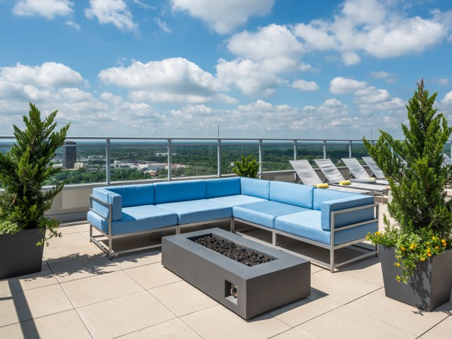 Image of Outdoor Sundeck for Two Twelve Clayton
