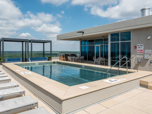Image of Resort-Inspired Swimming Pool for Two Twelve Clayton