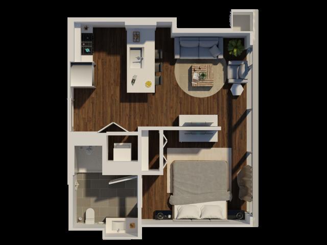 Prime Studio 1 Bath Apartment In Chicago Il Eleven 40 Download Free Architecture Designs Momecebritishbridgeorg
