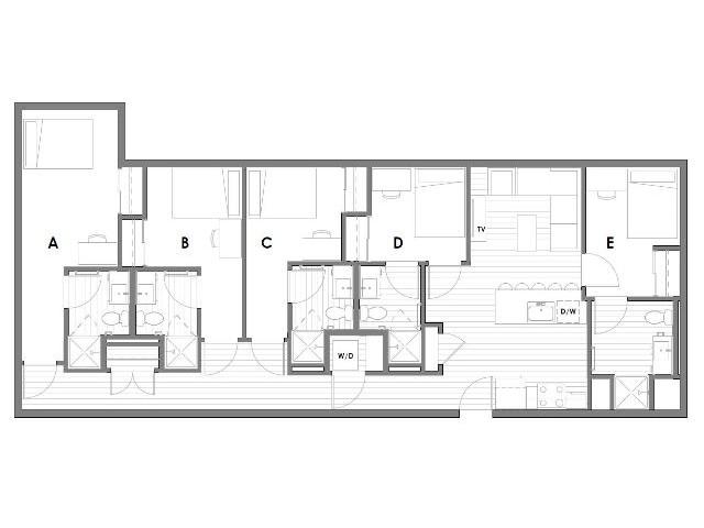 Pullman Wa 2 3 4 5 Bedroom Student Apartments Near Wsu