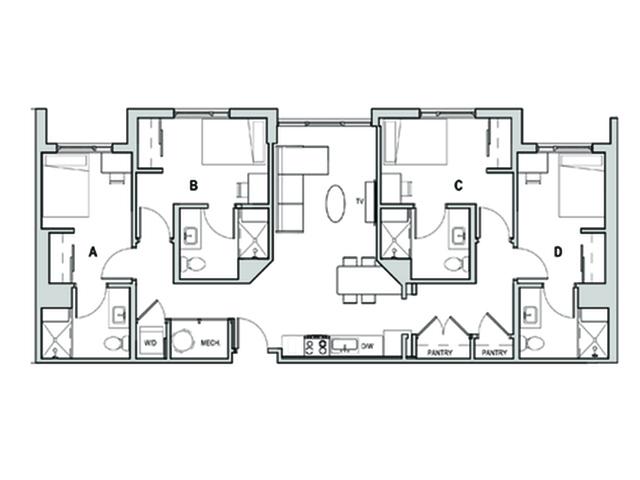 4x4 A Penthouse