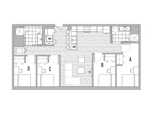 4x2 A Penthouse - 10 spaces remaining