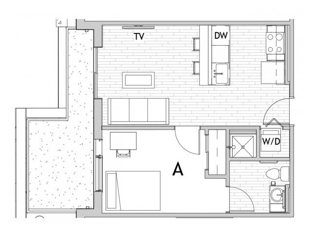 1x1 A Balcony