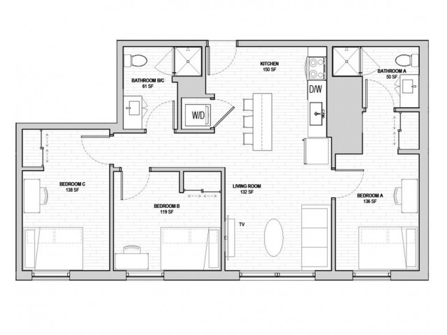 3x2 Penthouse Master Lease A