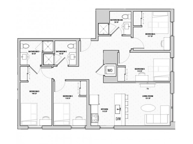 4x3 Penthouse Master Fewer Than 5 Spaces Remaining