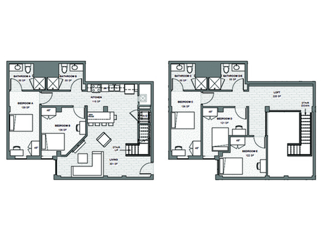 5x4 Loft Apply Today for our Waitlist
