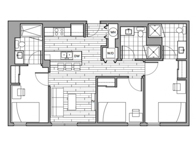 Floorplan 10 | Rise on 9th