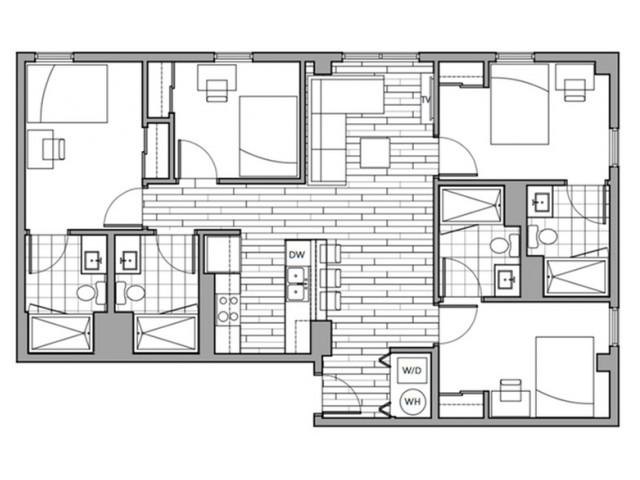 Floorplan 12 | Rise on 9th