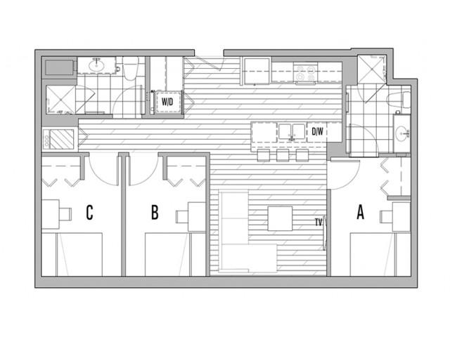 3x2 A Penthouse Master- Waitlist