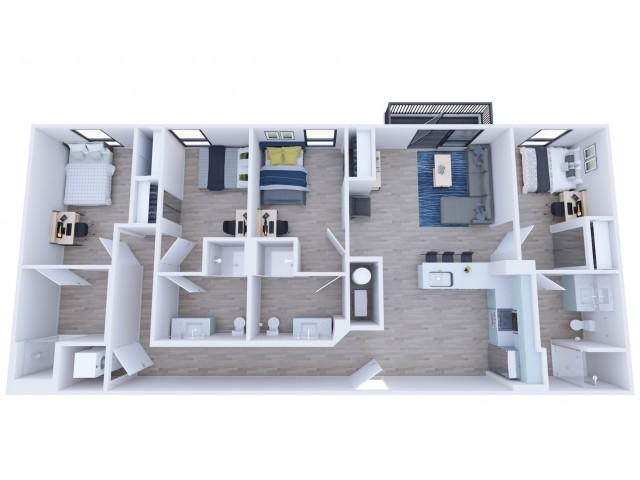 4x4 Premium Balcony