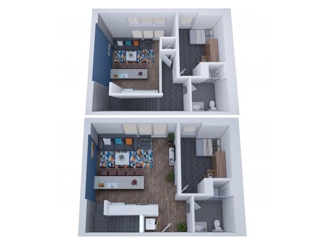 2x2 Penthouse
