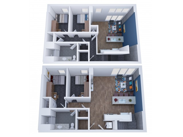 4x2 Penthouse