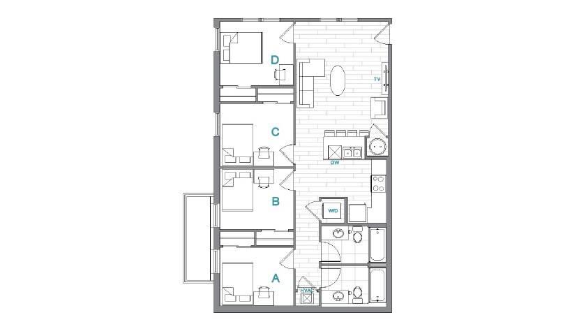 Floor Plan 10 | Uncommon Oxford