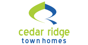 Cedar Ridge apartments logo near UCONN