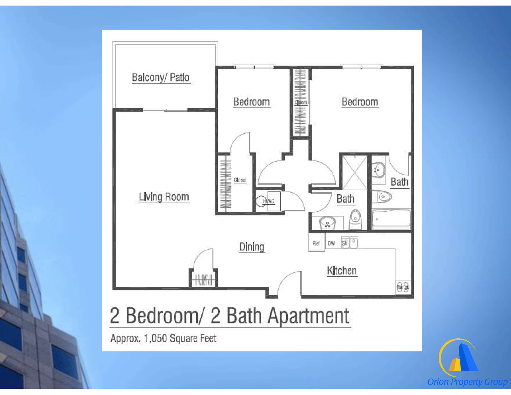 Brochure includes info on 2 bed/2 bath
