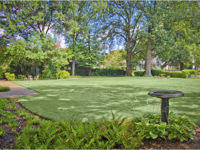 Image of Beautiful Landscaping for Kimbrough Towers