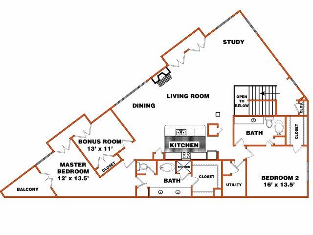 Flat 4 | Trinity Loft | Dallas Apartments
