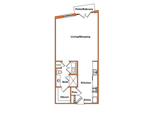 Loft 1 | Trinity Loft | Dallas Apartments