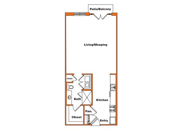 Loft 2 | Trinity Loft | Dallas Apartments